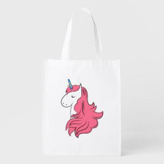 Bolsa De La Compra Reutilizable Unicornio fabuloso