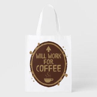 Bolsa De La Compra Trabajará para el café