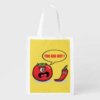 Bolsa De La Compra ¡Usted es caliente!