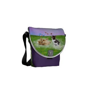 Bolsa De Mensajería bolso de los gatos del bebé