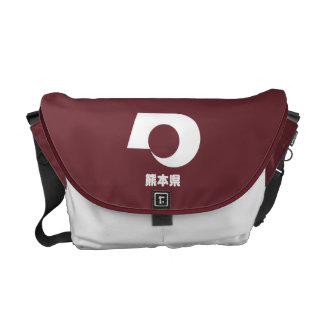 Bolsa De Mensajería La bolsa de mensajero de Kumamoto Kamon
