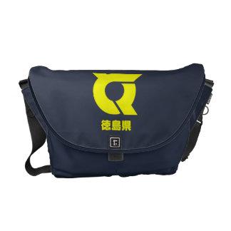 Bolsa De Mensajería La bolsa de mensajero de Tokushima Kamon
