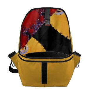 Bolsa De Mensajeria La bolsa de mensajero del diseño del amarillo del