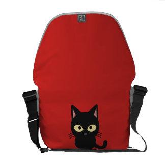 Bolsa De Mensajeria La bolsa de mensajero linda del gatito