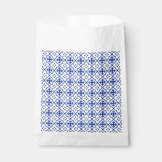Bolsa De Papel Azul marroquí