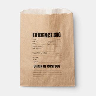 Bolsa De Papel Bolso de las pruebas del crimen