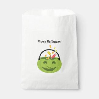 Bolsa De Papel Bolso del favor del cubo el | de Halloween del