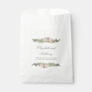Bolsa De Papel Bolsos elegantes del favor del boda de la magnolia