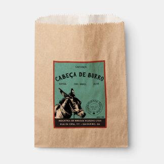 Bolsa De Papel Cabeza del burro de Cachaça