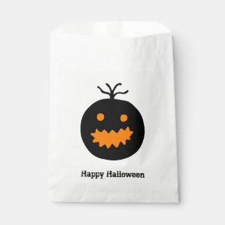 Bolsa De Papel Calabaza linda de Halloween