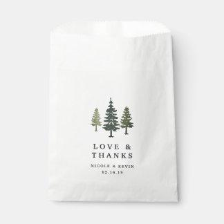 Bolsa De Papel El casarse alto de los pinos le agradece