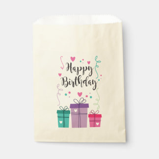 Bolsa de Papel Happy Birthday