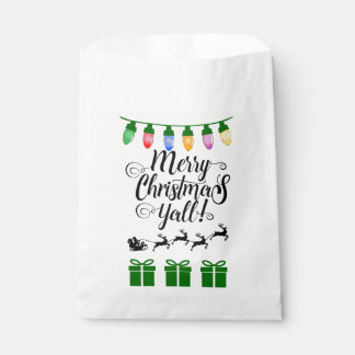 Bolsa De Papel Las Felices Navidad usted favorece bolsos