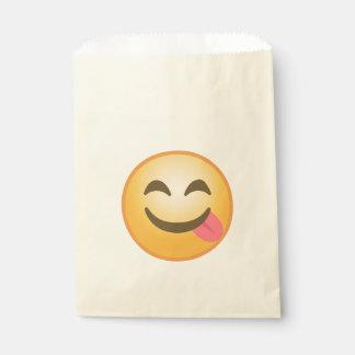 Bolsa De Papel Lengua lateral Emoji