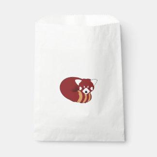 Bolsa De Papel Panda roja