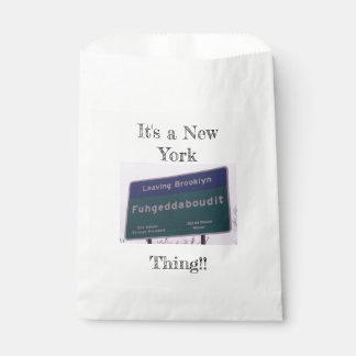 Bolsa De Papel Salir de Brooklyn Nueva York Fuhgeddaboudit