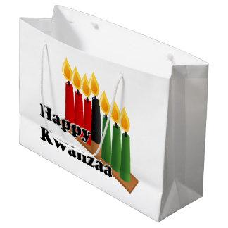 Bolsa De Regalo Grande 12-26 Kwanzaa feliz