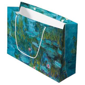 Bolsa De Regalo Grande Arte de Nymphéas GalleryHD de los lirios de agua