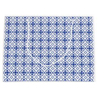 Bolsa De Regalo Grande Azul marroquí