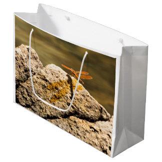 Bolsa De Regalo Grande Baño de Sun de la libélula