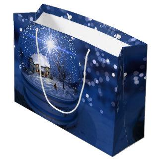 Bolsa De Regalo Grande Bolso del regalo del globo de la luz de las