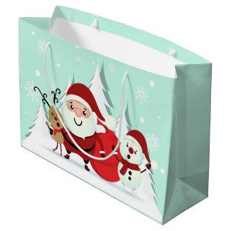 Bolsa De Regalo Grande Bolso grande del regalo del navidad de Santa, del