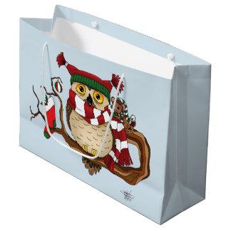 Bolsa De Regalo Grande Calor del navidad