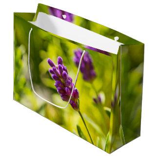 Bolsa De Regalo Grande Custom veneno Bag flor de alhucema - Grande,