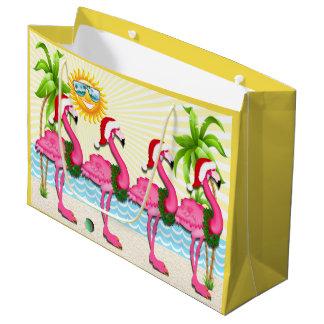Bolsa De Regalo Grande Diversión Sun y tote rosado del #holidayZ del