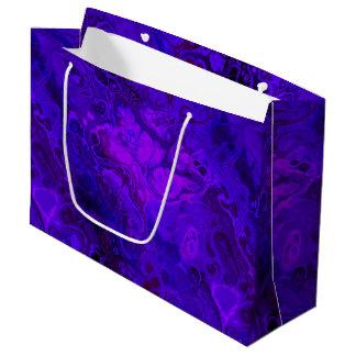 Bolsa De Regalo Grande Extracto púrpura de la intensidad