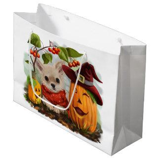 Bolsa De Regalo Grande Halloween para las chihuahuas