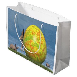 Bolsa De Regalo Grande Huevo de Pascua - 3D rinden