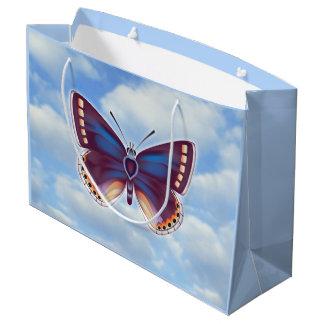Bolsa De Regalo Grande Mariposa brillante