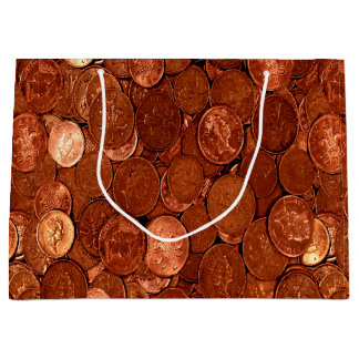 Bolsa De Regalo Grande Monedas de cobre