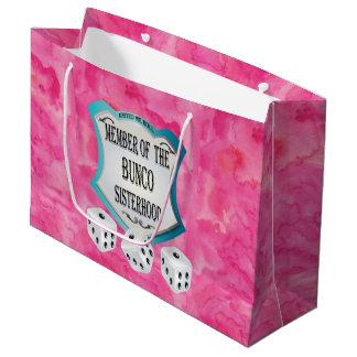 Bolsa De Regalo Grande Noche rosada bonita de los chicas de la diversión