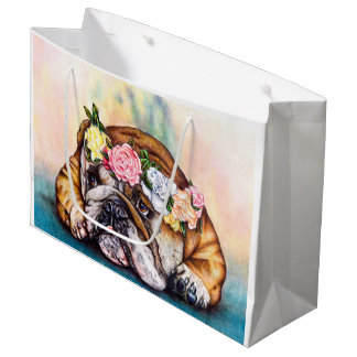 Bolsa De Regalo Grande Princesa que pone mala cara Gift Bag