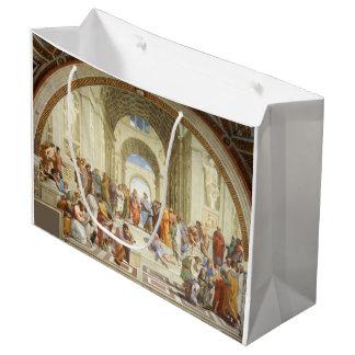 Bolsa De Regalo Grande Raphael - La escuela de Atenas 1511