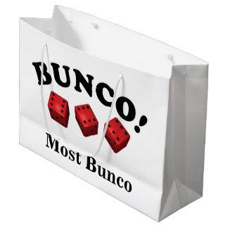 Bolsa De Regalo Grande Regalo de los dados de Bunco la mayoría del Bunco