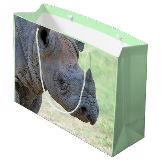 Bolsa De Regalo Grande Rinoceronte negro