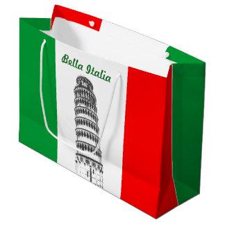 Bolsa De Regalo Grande Torre inclinada modificada para requisitos