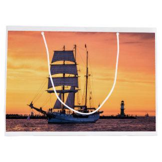 Bolsa De Regalo Grande Windjammer en el mar Báltico