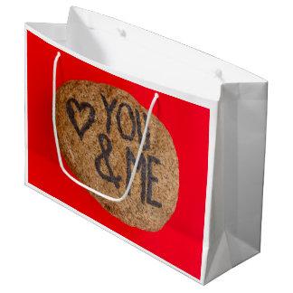 Bolsa De Regalo Grande YOU&ME en el bolso del regalo grande, brillante