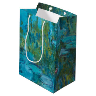 Bolsa De Regalo Mediana Arte de Nymphéas GalleryHD de los lirios de agua