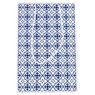 Bolsa De Regalo Mediana Azul marroquí