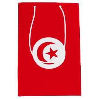 Bolsa De Regalo Mediana Bandera de Túnez