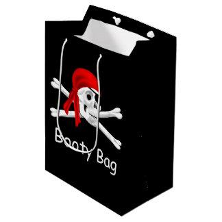 Bolsa De Regalo Mediana Bolso del MED del bolso del botín del pirata