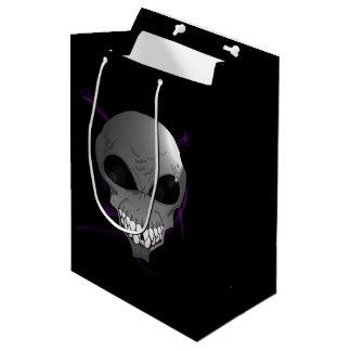 Bolsa De Regalo Mediana Bolso gris del regalo del personalizado extranjero