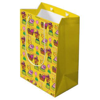 Bolsa De Regalo Mediana Búho y el bolso del regalo del minino