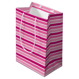 Bolsa De Regalo Mediana Celebre el acontecimiento rosado