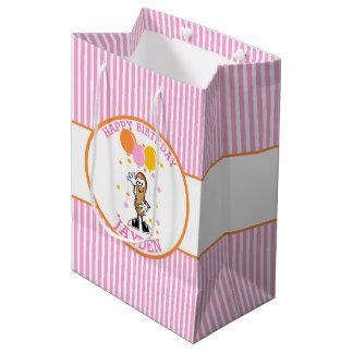 Bolsa De Regalo Mediana Cumpleaños personalizado cacahuete de Lil